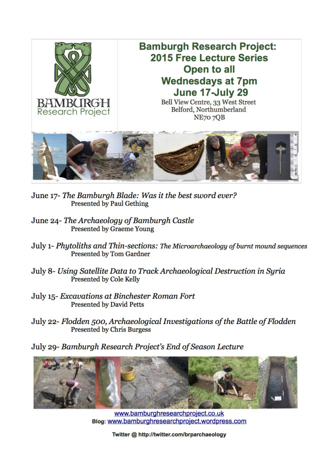BRP Lecture series 2015