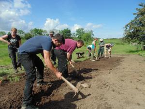 Excavation at the Bradford Kaims