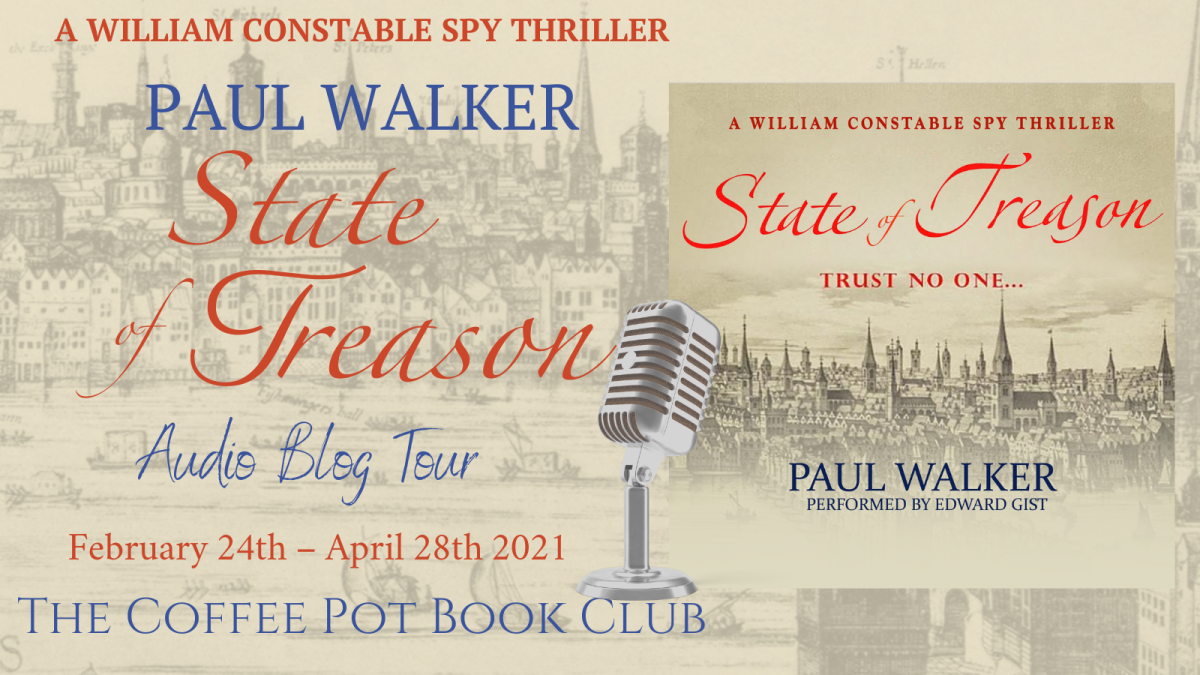 Welcome to today's stop on the blog tour for the State of Treason by PaulWalker